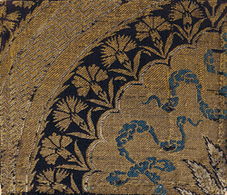 Antique Ottoman Gold Brocade