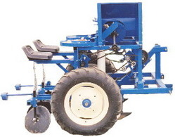 Row Assisted Feed Planter