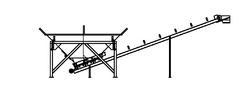 12 Yard Decumulative Aggregate Batching Machine