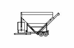 belgrade low profile portable cement silo
