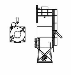 belgrade round portable cement silo