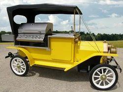 Antique Vending Cart