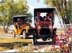 Antique Auto Track Ride