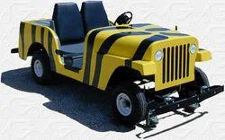 Safari Jeep Parade Vehicle