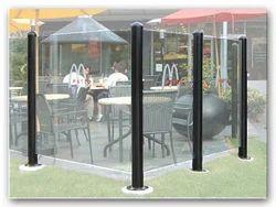 Nice Glass Windscreen Posts