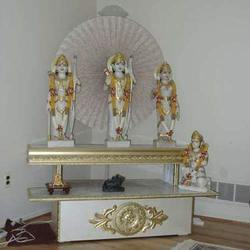 Pooja Ghar For Home http://www.hellotrade.com/marble-temple ...