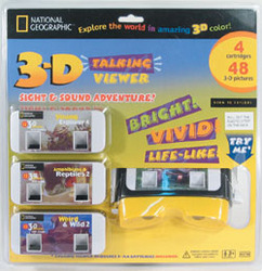 Ng3tv4c - 3d Talking Viewer With 4 Sound Picture Cartridges