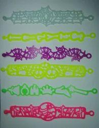 Hollow Out Silly Bracelet, Energy Silly Bracelet, Silicone Bracelet, Fashion Bracelet