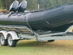 Army / Water Ops/Trailers For Inflatable Boats And Rib\'S