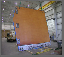 Composite Hangar Door The Advanced Seal Delivery System
