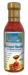 Raw Coconut Nectar Natural Sweetener