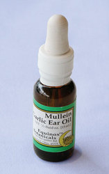 Mullein Garlic Ear Oil