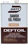 Deftoil Danish Oil Finish