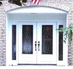 Replacement Double Entry Doors With Sidelights From Emerald Doors Manufactur