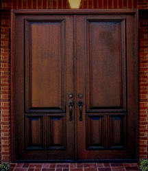 Double Front Doors on Double Wood Entry Doors Double Front Entry Doors In Solid Genuine