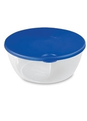 Sterilite Round Storage Container With Lid - 12 Cup