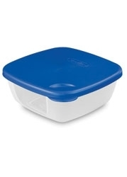 Sterilite Square Storage Container With Lid - 3 Cup