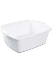 Sterilite Plastic Dishpan - 12 Quart