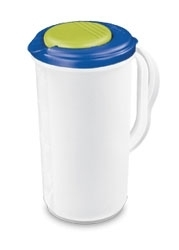 Sterite Plastic Pitcher With Lid - 2 Quart
