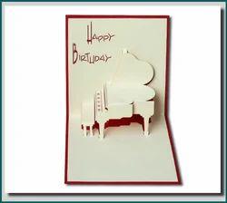 Love You - Handmade Pop Up Greeting Card