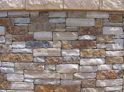 Keota Blue Brown Tumbled Stone