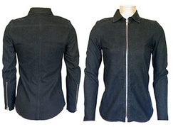 Katayone Adeli Black Denim Jacket