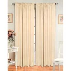 Pocket Curtain Panels - Curtain Rods, Curtains, Curtain