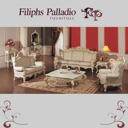 Home Furniture - Hand Carved Solid Wood Sofa Set