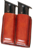 Double Pistol Mag Carriers(Brown)