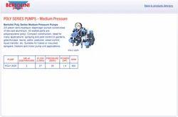 Medium Pressure Pumps