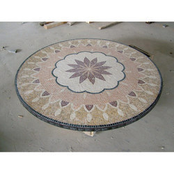 Glass Mosaic Tile Art: Lovely Mosaic Table Top Furniture