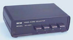 Digital Video Stabilizer-32-4420 - Audio/Video Selector