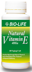 Natural Vitamin E 400iu