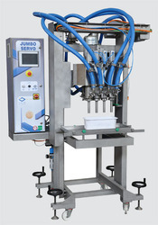 Jumbo Servo Double Filling And Extruding Stations