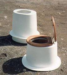 Outhouse Toilet Pedestals / Toilet Cones