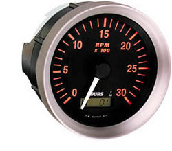 Vibration, Time & Speed / Tachometers And Tach/Hourmeters