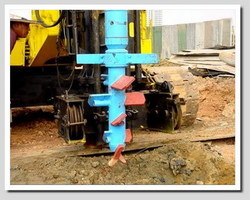 Cross Blade Mixing Auger