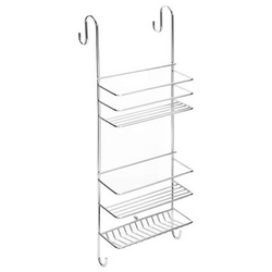 Accessories Bathroom : Hook Over Shower Caddy