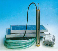 Solar/Wind Electricity Water Pumping