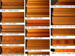 Chair Rail Panel  Moulding Back Bands