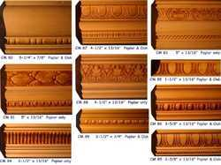 Embossed  Crown  Moulding