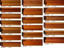 Embossed  Picture  Frame  Moulding  Patterns