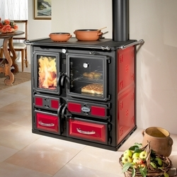 Wood heater cooker from mescoli caldaie s r l trader of for Mescoli caldaie
