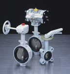Motorized/pneumatic Butterfly Valve