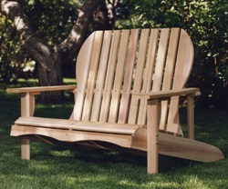 Cedar Adirondack Loveseat Kit