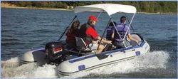 Armada  Rescue  transom boat