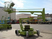 Boom Lift with Tyre
