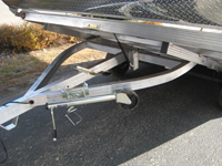 sled bed enclosed snowmobile trailers - trader from newmans
