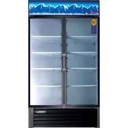 Dual Hinged Glass Door Merchandiser