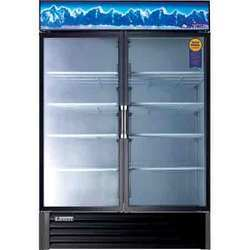 Dual Hinged Glass Door Merchandise